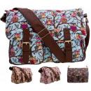 groothandel Tassen & reisartikelen: Een grote  handtasschouder MIX uilen glitter
