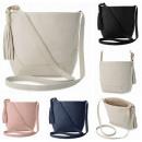Schöne Handtasche fb216 auf den Schulterfarben