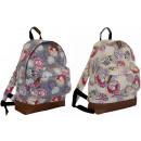 groothandel Rugzakken: Modieuze vrouwen Backpack A4 Paris
