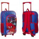 wholesale Bags: Suitcase with Spiderman Marvel wheels