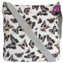 Messenger bag A4 Butterflies CB185
