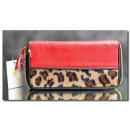 Großhandel Geldbörsen: Damenbrieftasche Leopard PS81 Damenbrieftaschen Ne