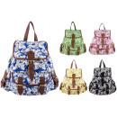 Großhandel Taschen & Reiseartikel: CB151 Daisy Rucksack Damen A4 Rucksäcke