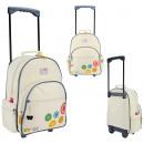 Suitcase for children on Debbi wheels
