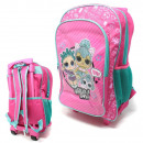 Suitcase / Backpack with wheels for children LOL S