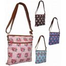 CB170 Roses Material Handbag Damenhandtaschen