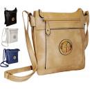 Großhandel Taschen & Reiseartikel: Handtasche A5 Öko-Leder NEW HIT