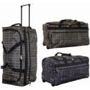 Reise-Koffer auf Rädern TB03 Gitter