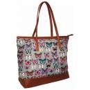 Damenhandtasche Butterfly Glitter SH004 handbag ;;