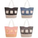 Großhandel Handtaschen: Praktische Tasche Handtasche Shopper Strandtasche
