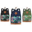 wholesale Gifts & Stationery: School backpack A4 BP241 TROPICAL