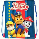 Backpack - Paw Patrol Bag Blue Boy A4 children