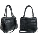 Beautiful handbag made of genuine leather - LHB27