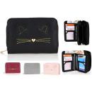 Beautiful women's wallet for girl kitty PS159
