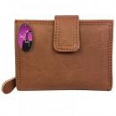 Eine schöne Brieftasche für Frauen mit einer geräu