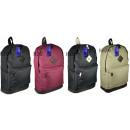 Unisex Plain  School Backpack toerist