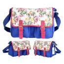 Handbag. Shoulder bag for school. CB159 Roses