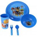 wholesale Houseware: Breakfast set 5 in 1 for children Paw Patrol