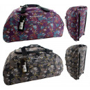 wholesale Travel and Sports Bags: TB09 Big Bag - FLOWERS travel suitcase