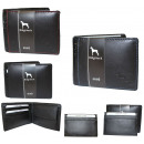 wholesale Wallets: Men's leather wallet + business card holder NC