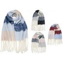 Warm women's scarf SZ236