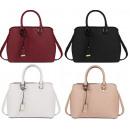 Großhandel Handtaschen: Schöne Umhängetasche + Gürtel 160 FARBEN