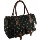 Comprador de bolsos espacioso con lunares CB156