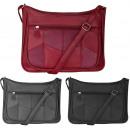Ladies' handbag with adjustable shoulder strap
