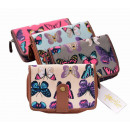 PS86 Cloth  Butterflies Wallet Women