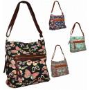 Großhandel Handtaschen: 2478  Neonschmetterling Handtasche A4 HIT