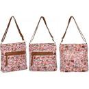 2478 Oil Owls Snow Rose Women's Handbag A4 HIT