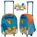 Großhandel Koffer & Trolleys: Die Simpsons  Koffer / Rucksack auf Rädern für Kind
