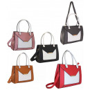 Damen Handtasche A4 FB222 Tasche mit Gürtel