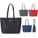 groothandel Boodschappentassen: FB242 SOFT Shopper voor dames op de schouder A4
