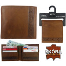 Burton LONDON  Wallets 100% Naturleder