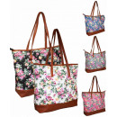 004 Women's  Purse Shoulder Flowers
