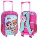 LOL SURPRIS Koffer / Rucksack auf Rädern für Kinde