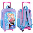 Suitcase / Backpack on wheels for children frozen