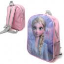 mayorista Artículos con licencia: Mochila para niños Mochila frozen Elsa rosa / viol