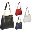 Piękna pikowana torebka damska 2 komory FB269