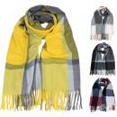 Warm women's scarf 321