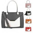 Piękna stylowa torebka damska na ramię kuferek 222