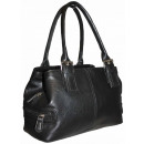 wholesale Bags & Travel accessories: Handbag women's trunk 1254 Black