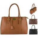 Großhandel Taschen & Reiseartikel: FB51 Elegante Damenhandtasche A4 Damenhandtaschen