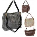 Women's Handbag + two stripes FB318 Print