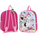mayorista Material escolar: ratón Minnie con una mochila de unicornio para niñ