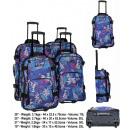 Großhandel Koffer & Trolleys: Set aus 4 TB10099 Amazon Reisekoffern