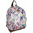 CB162 Backpack  Women Butterflies New Rugzakken