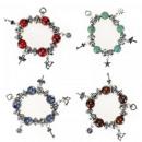 Großhandel Beads & Charms: Armband Perlen Perlen + Anhänger KOSTENLOS