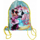 Großhandel Schulbedarf: Rucksack - Minnie Summer Fun A4 Tasche